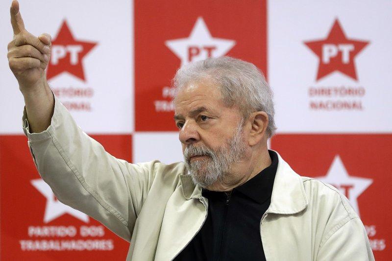巴西前總統魯拉(Luiz Inácio Lula da Silva)(AP)