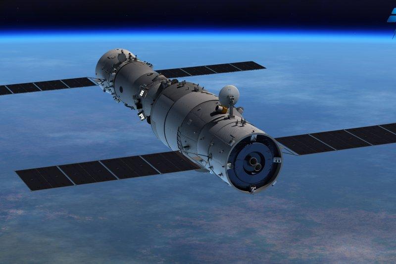 中國「天宮一號」太空實驗室