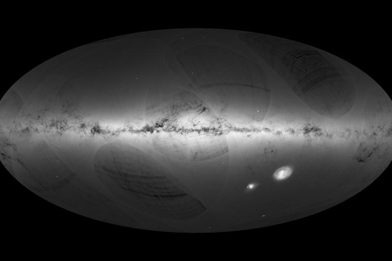借助「蓋亞」(Gaia)太空探測器測繪,歐洲航太總署公布迄今最精確銀河系3D星圖(ESA)