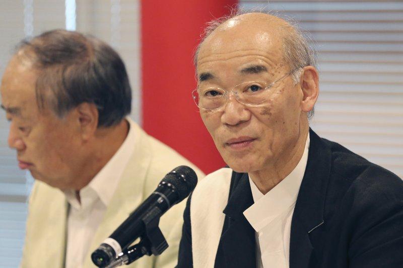 動漫觀光協會理事長由人稱「鋼彈之父」的導演富野由悠季擔任。(美聯社)