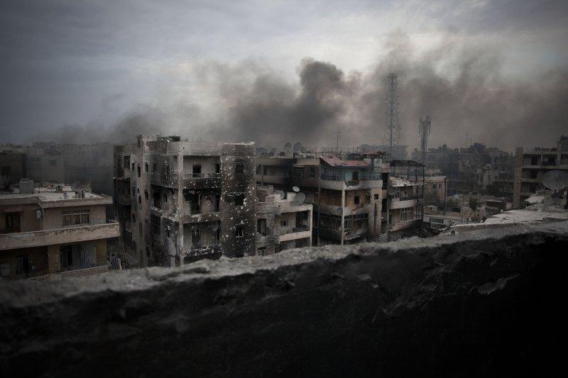美國與俄羅斯為敘利亞達成的新停火協議才生效近1周就瀕臨瓦解。(美聯社)