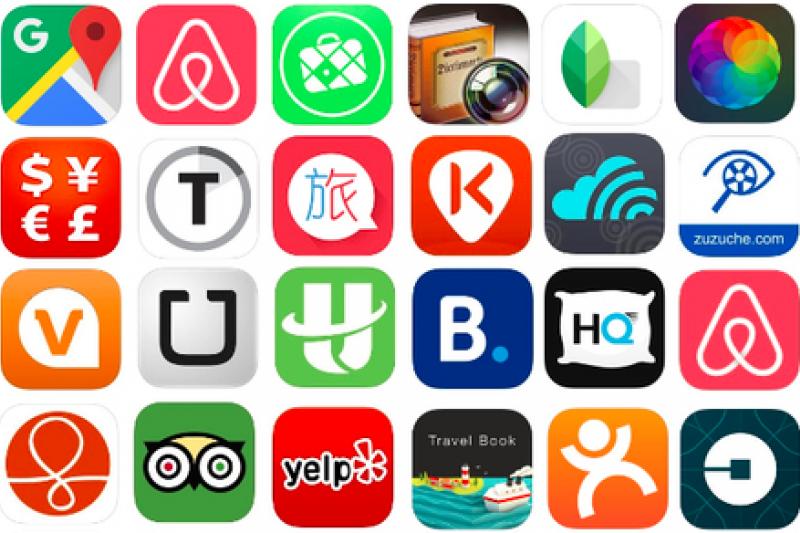 愛旅行的你,是否已經下載這些App了呢?(圖/Klook客路)