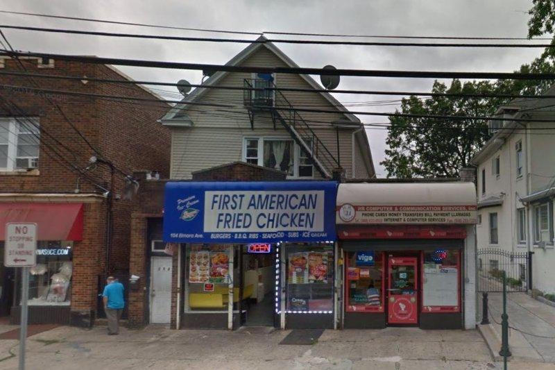 雷哈密一家就住在炸雞店樓上(Google街景)