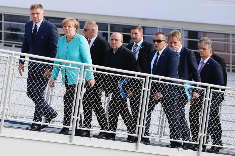 外媒評論,梅克爾在歐盟的影響力也在減弱中。。(美聯社)