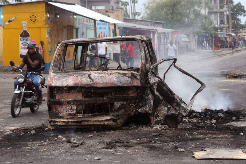 剛果民主共和國警民衝突至少32人死亡。(美聯社)