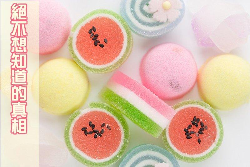 你知道軟糖怎麼做的嗎?(圖/sanmai@flickr)