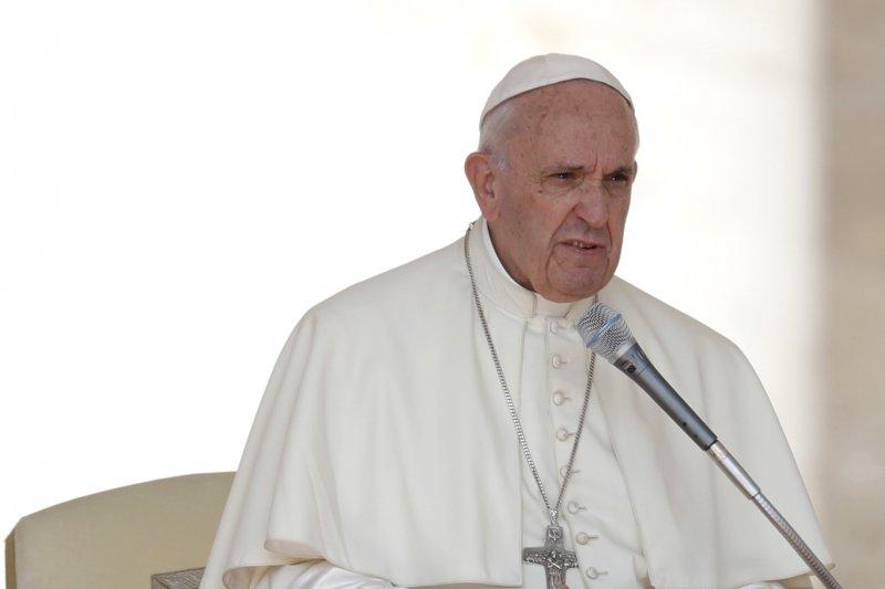 羅馬天主教教宗方濟各直言,媒體散布八卦和謠言的行為無異於「恐怖主義」。(美聯社)