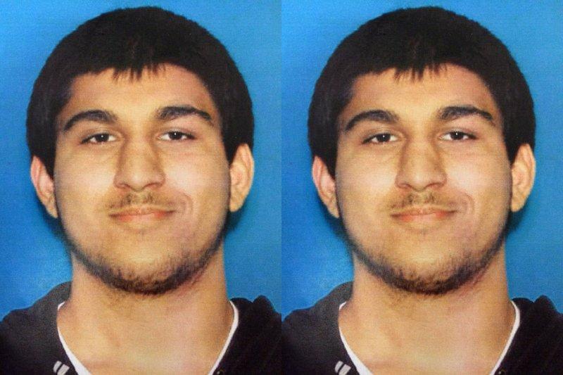 美國柏靈頓瀑布商場(Cascade Mall)槍擊案主嫌20歲的賽丁(Arcan Cetin)(AP)