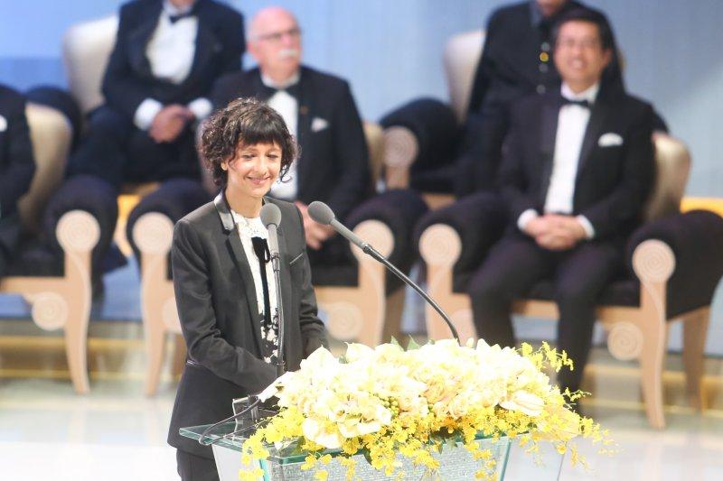 20160925-唐獎頒獎典禮.生技醫藥獎-法國的伊曼紐•夏彭提耶(Emmanuelle Charpentier)(陳明仁攝)