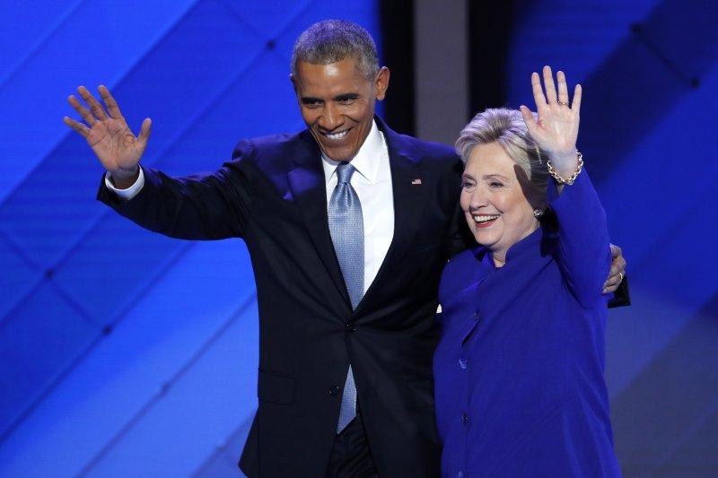 美國的亞太策略轉向,平衡逐漸消失;未來希拉蕊能否接下歐巴馬的衣缽?(美聯社)