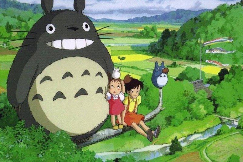動畫大師宮崎駿製作動畫時雖然常喊辛苦,但學會以「享受」的心態面對,讓他屢創經典!(圖/洪 淑惠@flickr)