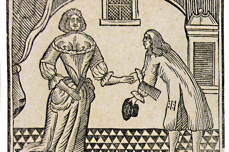 看看中古世界的男女如何增進感情。(圖/大寫出版提供)
