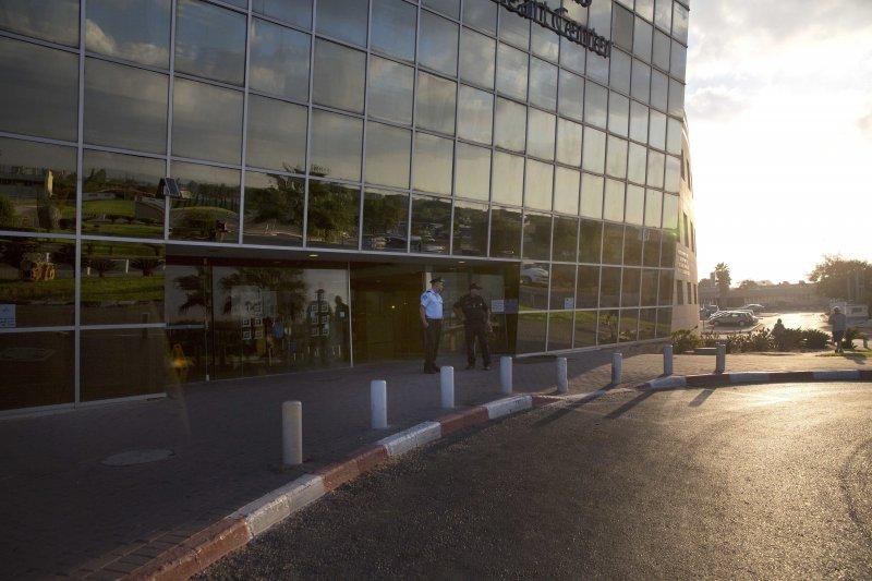 收治以色列前總統裴瑞斯的特爾巴秀莫醫院。(美聯社)