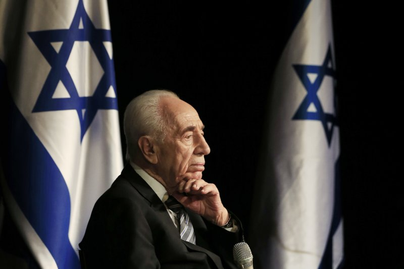 以色列前總統裴瑞斯。(美聯社)