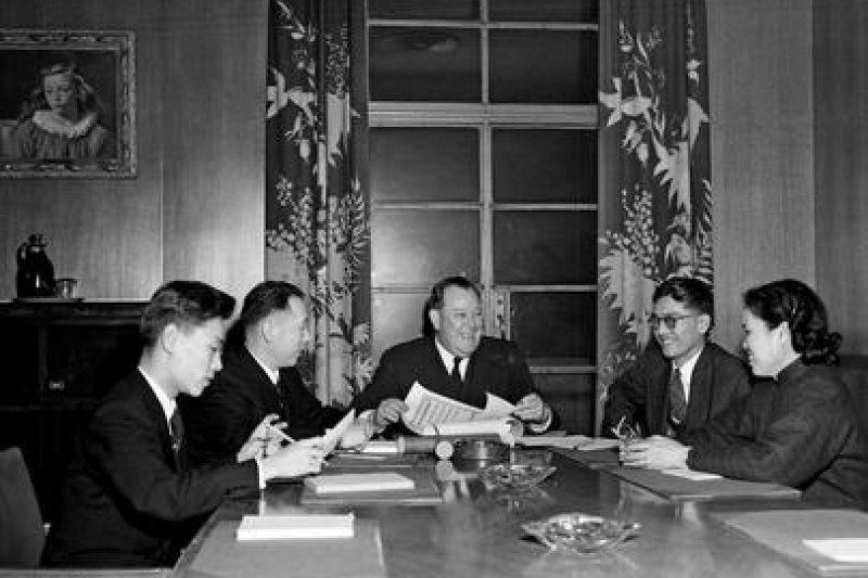 聯合國安理會通過第87號決議,邀請中華人民共和國代表團與會,討論控訴美國軍事入侵台灣案。(翻攝網路)