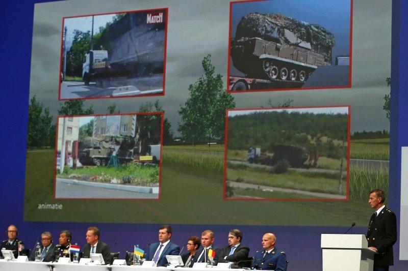 荷蘭政府主導的「聯合調查小組」公布報告,指出擊落MH17的飛彈是由俄羅斯境內運往烏克蘭東部的叛軍控制區(美聯社)