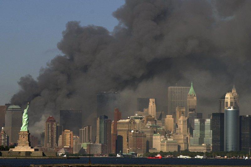 2001年九一一恐怖攻擊事件,讓美國社會創鉅痛深(AP)