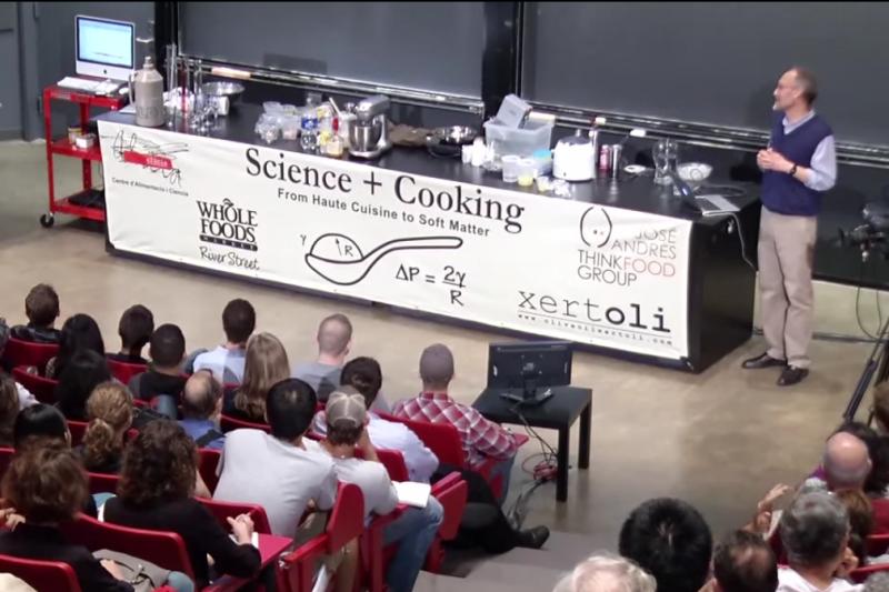 哈佛大學也愛「做料理學科學」?(圖/擷取自Youtube)