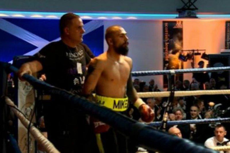 蘇格蘭拳擊手托威爾(Mike Towell)9月29日比賽前的照片(BBC中文網)
