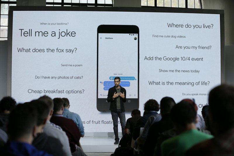 與Siri功能相近的Google Assistant。(美聯社)