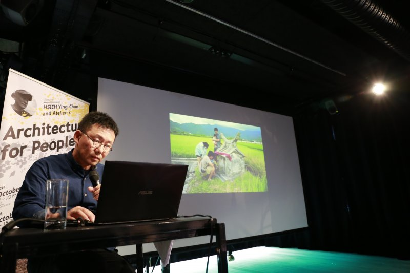 田中央建築師黃聲遠遠赴芬蘭展開一系列特展,宣揚台灣價值。(田中央提供)