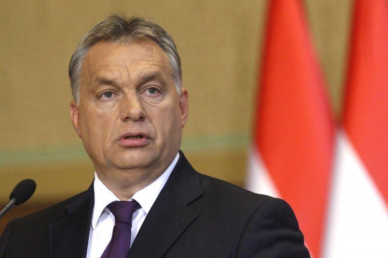 匈牙利總理奧爾班計畫修憲,極力反對歐盟難民配額計畫。(美聯社)