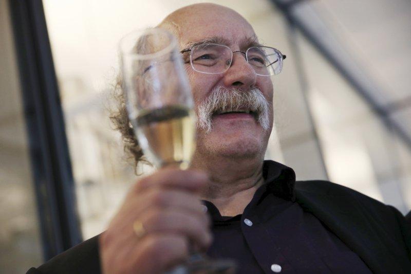 2016年諾貝爾物理學獎得主哈爾丹(F. Duncan Haldane)(AP)