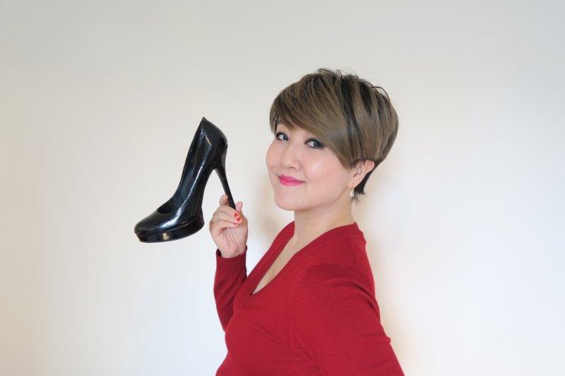 Cecilia誤打誤撞成為鞋子設計師後,鞋子也變成她的此生摯愛。(圖/Hahow好學校提供)