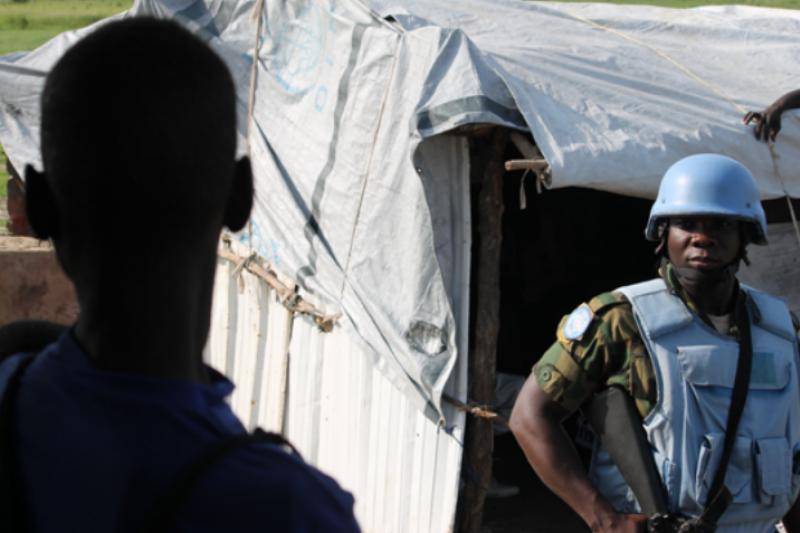 人權組織指控,聯合國維和部隊在7月份南蘇丹衝突中棄平民於不顧。(圖/Civic報告書)