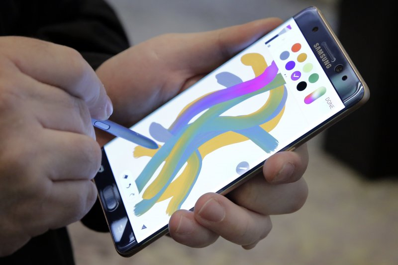 南韓三星(Samsung)Galaxy Note7手機(AP)