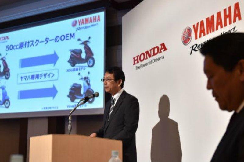 兩家公司宣佈合作記者會,但是也說明合作僅限於日本國內。(BBC中文網)