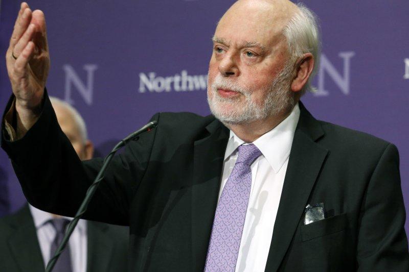 2016諾貝爾化學獎得主之一:英國的史托達特(Sir J. Fraser Stoddart)。(美聯社)