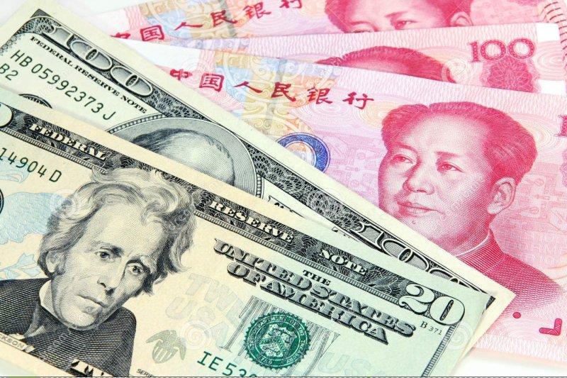 北京正發動一 人民幣對美元的戰爭。(圖取自網路)