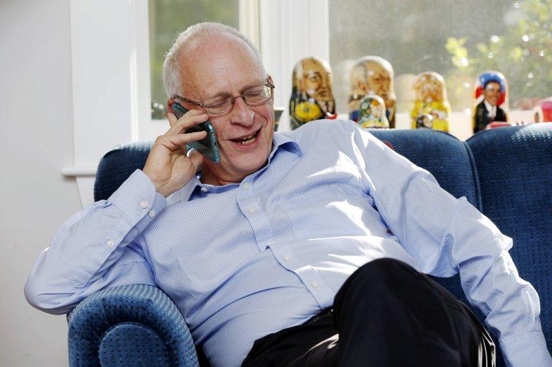 英國學者哈特(Oliver Hart)成為2016年諾貝爾經濟學獎得主之一。(美聯社)