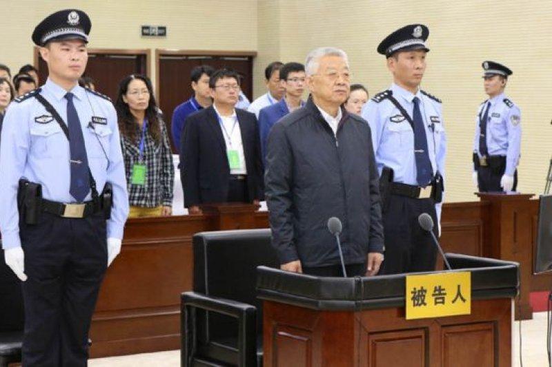 白恩培在法庭上承認受賄2.47億元人民幣。(BBC中文網)