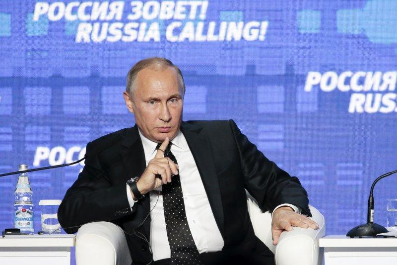 俄羅斯總統普京在敘利亞問題上堅持不讓步。(美聯社)