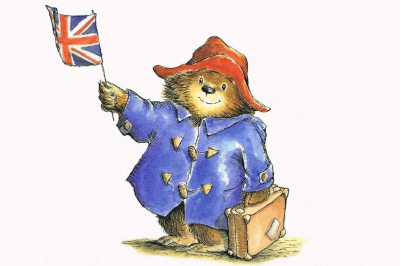 英國知名童書角色「柏靈頓熊」在60年前的今天出道。(翻攝Twitter/Ms. B-D@bohndrake)