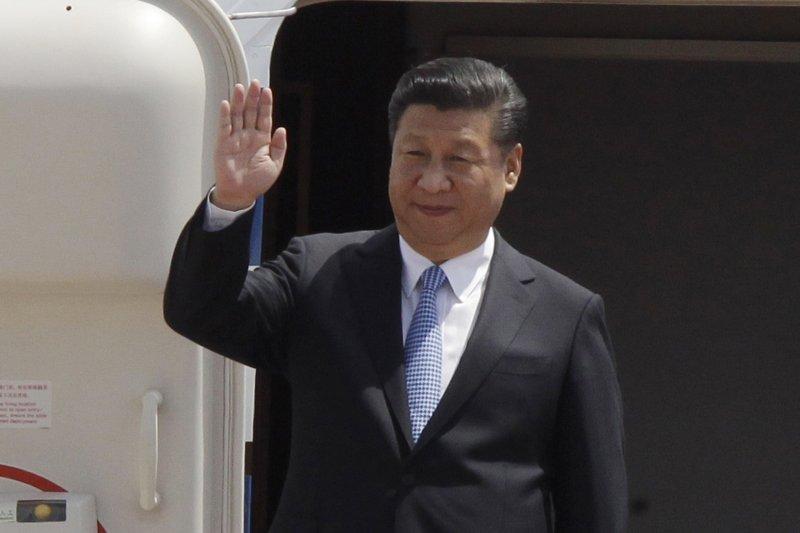 習近平亞洲之行啟程,將與柬、孟合作深化一帶一路計畫。(美聯社)