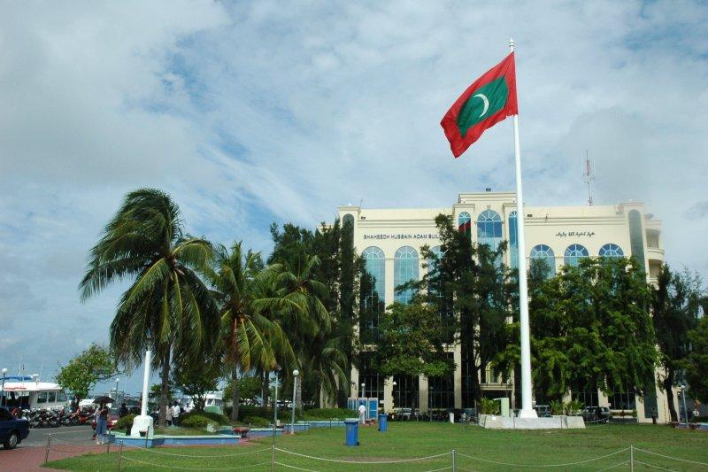 馬爾地夫首都馬律的獨立廣場(Jpatokal@Wikipedia GFDL)