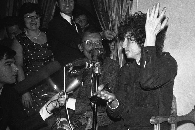 2016年諾貝爾文學獎得主巴布狄倫(Bob Dylan)(AP)