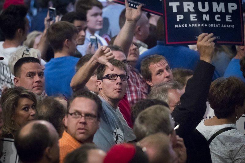 美國共和黨總統候選人川普(Donald Trump)的支持者(AP)