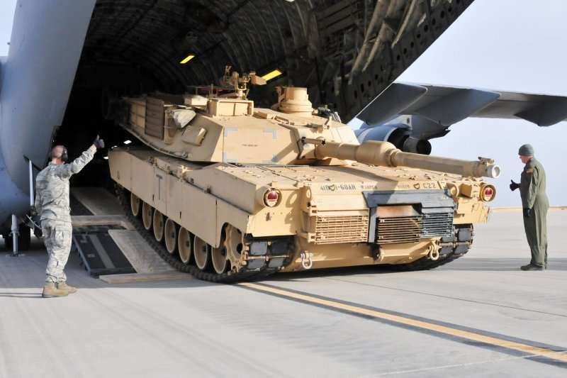 圖為 Abrams M1A2戰車。(取自美國陸軍官網)
