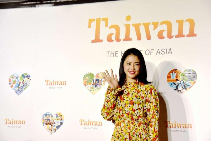 日本藝人長澤雅美出任台灣觀光形象代言人。(觀光局提供)