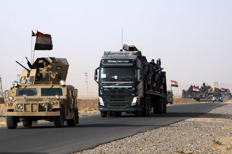 伊拉克軍方發起作戰行動,準備收復第二大城摩蘇爾(Mosul)(AP)