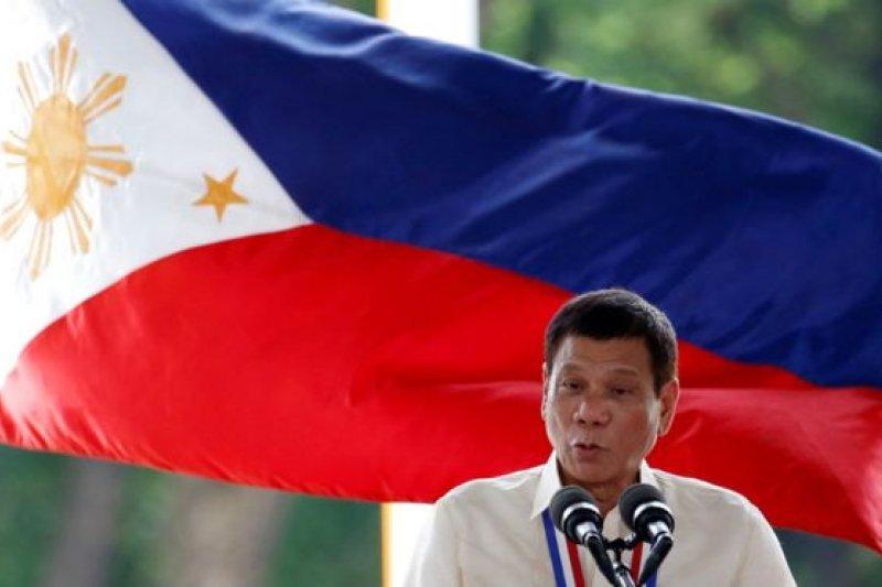 菲律賓總統杜特蒂。(BBC中文網)