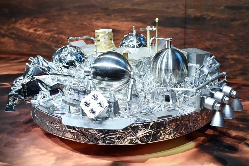 火星登陸器「斯基亞帕雷利號」(Schiaparelli)(AP)