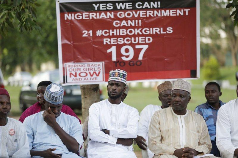 21名「奇波克女孩」已回家,但仍有197名還在博科哈蘭手裡。(美聯社)
