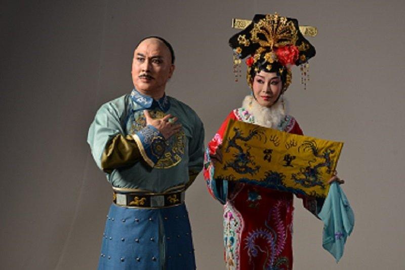 國光劇團2016新編京劇《孝莊與多爾袞》。(取自國立傳統藝術中心官網)