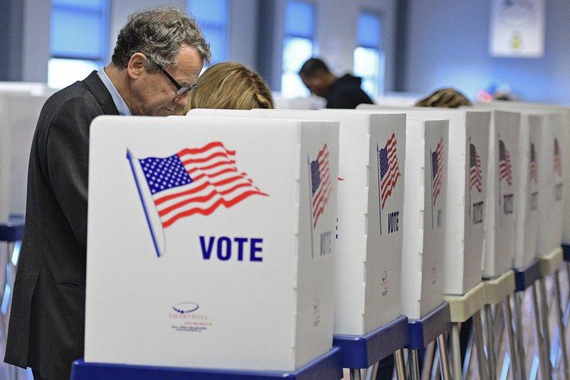 今年提前投票的人數增加。(美聯社)
