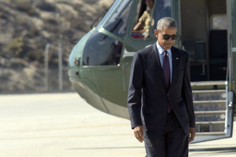 美國總統歐巴馬。(美聯社)